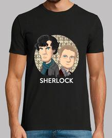 tee shirt  homme sherlock