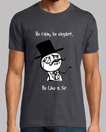 tee shirt  homme soit like sir