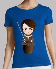 tee shirt  kokeshi arya stark