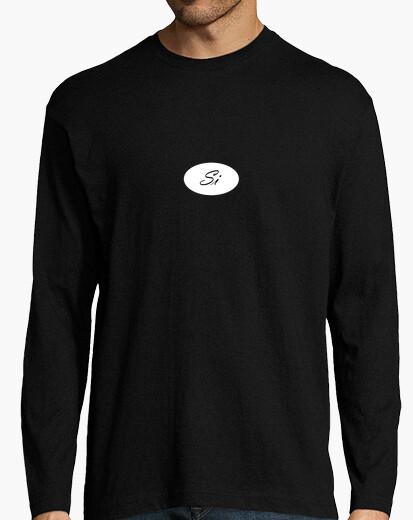 Tee-shirt  tee shirt  note double si le noir