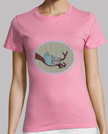 tee shirt  rose cheshire pendientero
