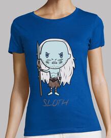 tee shirt  sloth- femme
