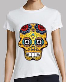 tête de mort  couleur mexique