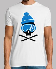 tête de mort  de ski