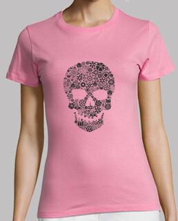 tête de mort  fleur / Flower skull