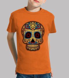 tête de mort  mexicain tribale !!!