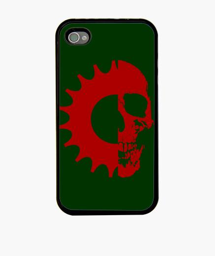 Coque iPhone  tête de mort  pignon