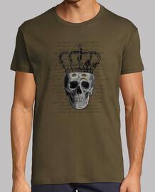 tête de mort  royale ( homme s t-shirt)