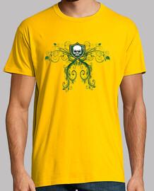 tête de mort  vert