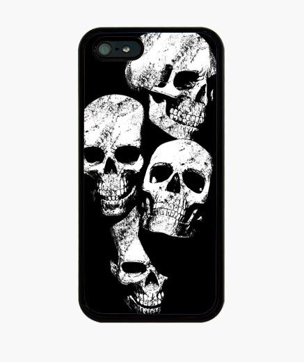 Coque iPhone  têtes de mort