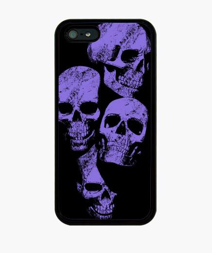 Coque iPhone  têtes de mort  2