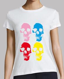 têtes de mort  colorés