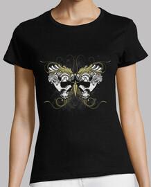 têtes de mort  de papillon