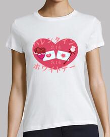 & valentine day -shirt  femme
