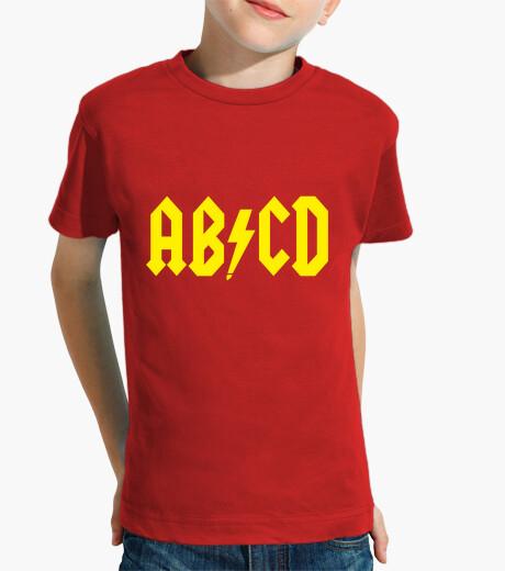 A b c d children's clothes