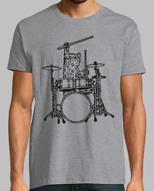 à chat can faire de la musique rock ave
