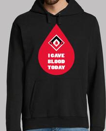 a donné du sang au day