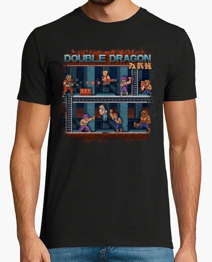 Tee-shirt à double ver2 dragon