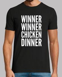 a ganar a ganar pollo para cenar