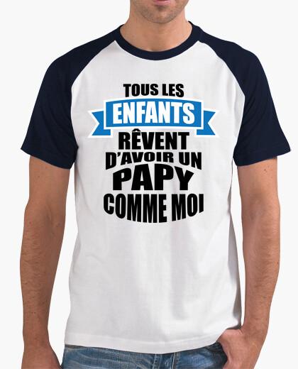 A grandpa like me t-shirt