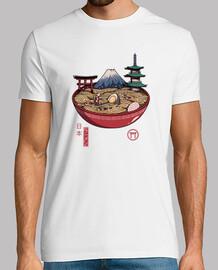 a japanese ramen shirt mens