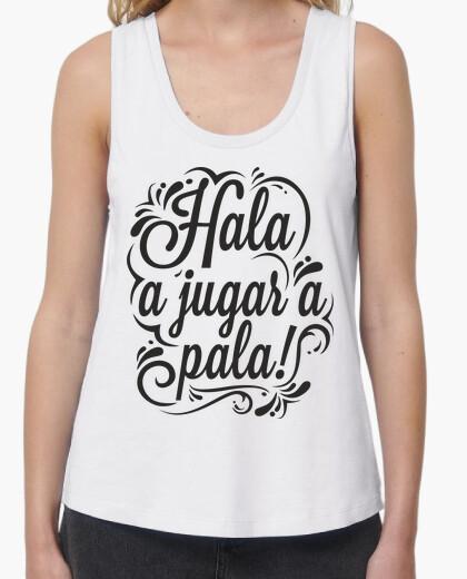 Camiseta A JUGAR A PALA