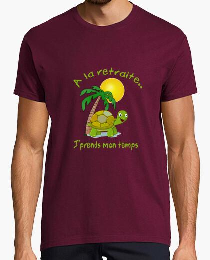 Tee-shirt A la retraite j'prends mon temps2