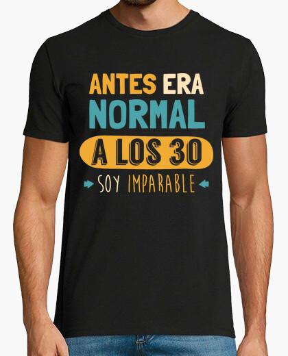 Tee-shirt à les 30 suis imparable, 1989