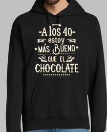 à les 40 plus de bien que le chocolat