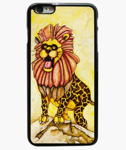 Funda iPhone 6 Plus / 6S Plus A lion with giraffe costume (case)