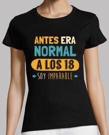 A Los 18 Soy Imparable, 2001