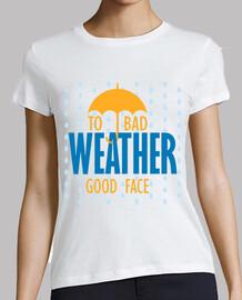 A mal tiempo buena cara