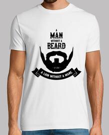 A man without a beard