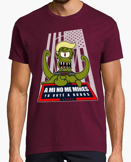 Camiseta A mi no me mires, yo voté a Kodos
