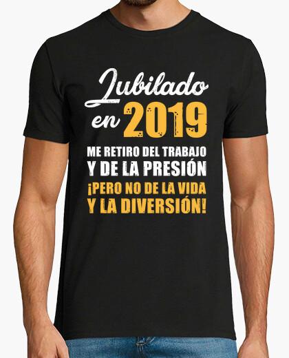 Tee-shirt a pris sa retraite en 2019