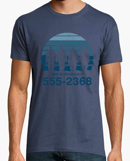 Camiseta ¿a quien vas a llamar?