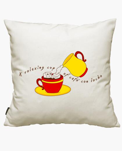 Funda cojín A relaxing cup