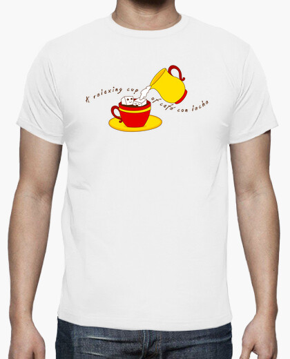 A relaxing cup ... t-shirt