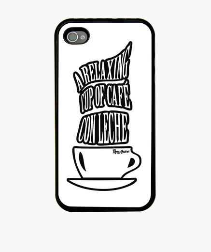 Funda iPhone A RELAXING CUP OF CAFÉ CON LECHE