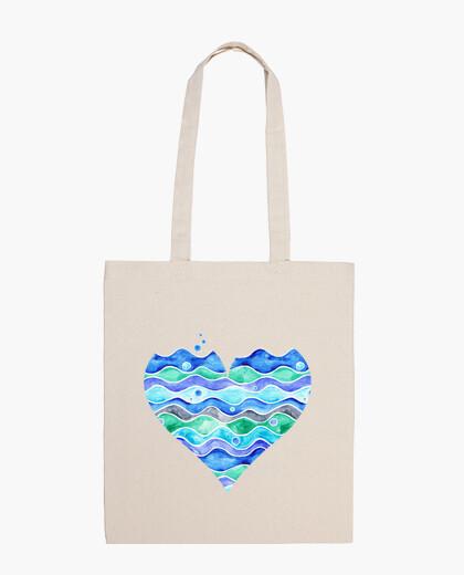 Bolsa A Sea of Love (transparent)