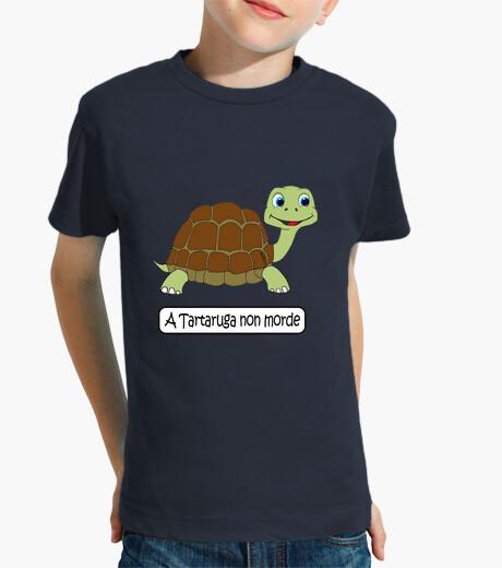 Ropa infantil A tartaruga non morde
