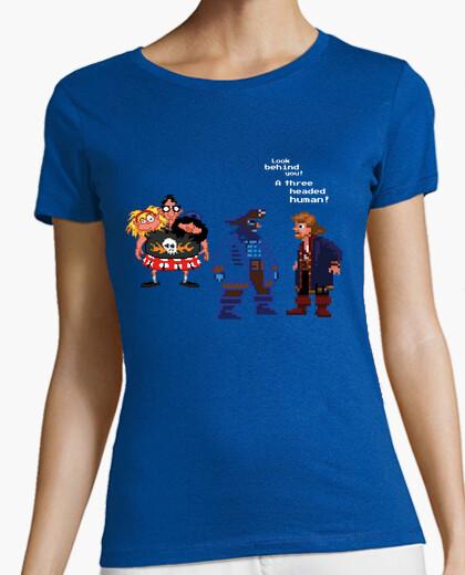 Tee-shirt A three headed human!