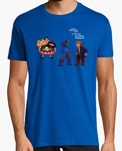 Camiseta A three headed human!