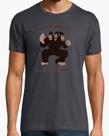 Camiseta A three headed Ozaru