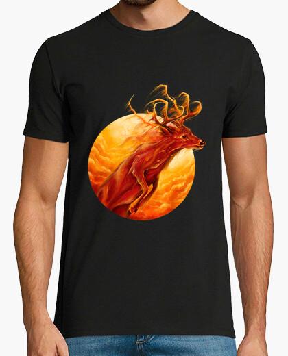 Camiseta a través del fuego