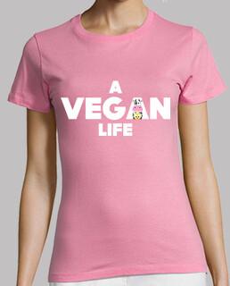 A Vegan Life Camiseta chica