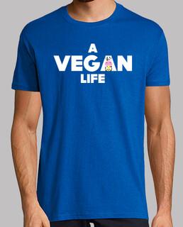 A Vegan Life Camiseta chico