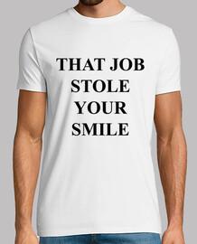 a volé ta chemise de sourire