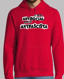 a volte anti social sempre antifascista