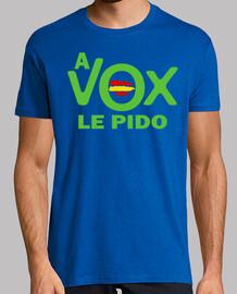 A VOX LE PIDO